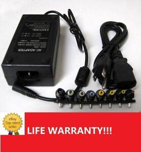 90W Universal Laptop Power Supply 110-220v AC To DC 12V/16V/20V/24V Adapter Us