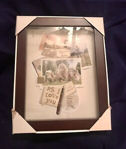 SHEFFIELD HOME SHADOW BOX -Expresso 14 X 11 X 2 1/4INCHES