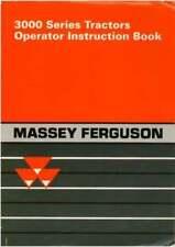 Massey Ferguson 3000 Series Tractor Maintenance and Operator Manual (0023)