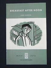 Breakfast After Noon  #1 #2 #3 #4 #5 #6 VF/NM  Andi Watson  Full Run Set  2000