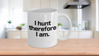 Bird Hunting Mug White Coffee Cup Funny Gift for Duck Turkey Goose Deer Bow Hunt