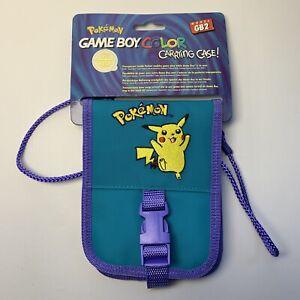 Official Pokemon Pikachu Gameboy Color Case Bag! Fits Gameboy Color, Pocket, Ds!