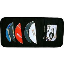 1 x NEO MEDIA 12 Capacité CD DVD Voiture & Van Soleil Visière Organisateur Stockage Portefeuille