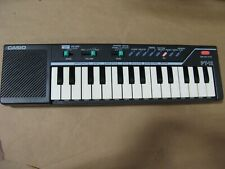 Tested Working Casio PT-12 Vintage Mini Keyboard  Uses 4 AA batteries