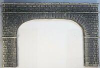 6262-1 Double Track Tunnel Portal O Scale Wide Version Cut Stone Block PRP