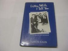 Listen While I Tell You: A Story of the Jews of st John's Newfoundland