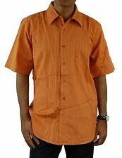 NEW Alpinestars Men's STOCK CAR Short Sleeve Woven Shirt, L, ORANGE