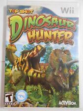 Top Shot Dinosaur Hunter - Nintendo  Wii Game