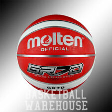 Molten GR7D Red Outdoor Rubber Basketballs | Free Shipping