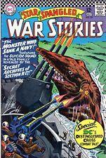 STAR SPANGLED WAR STORIES #127 Dinosaur Island SILVER AGE COMIC BOOK 1966