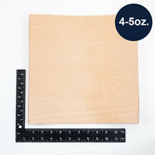 Natural Veg Tan Tooling Cowhide Leather Pre-Cut Piece 12