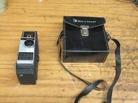 Vintage Bell & Howell 10mm Movie Camera Electric Eye with case. free shipping