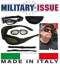 NEW Wiley X SG-1 Z87-2 Tactical Sunglasses & Goggles Smoke And Clear Matte Black