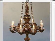 Dollhouse Miniature Lighting Electrical CHANDELIER