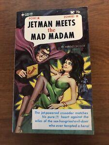 Jetman Meets the Mad Madam Hardley Savage Bee-line Book 118 Vintage