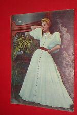 MITZI GAYNOR WILLIAM TRAVERS ON COVER 1957 UNIQUE EXYU MOVIE PROGRAM MAGAZINE