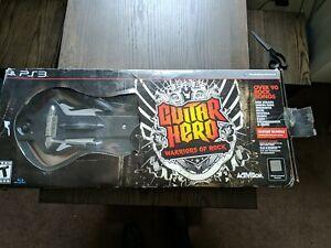 guitar hero warriors of rock ps3 bundle complete w/ Soundgarden CD and game.