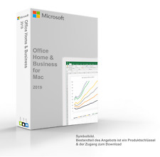 Microsoft Office 2019 Home & Business Multi (ESD) Vollversion für MAC