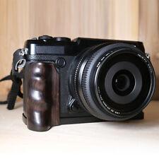 L Plate Bracket Wooden Padauk Hand Grip Holder For Fujifilm GFX 50R Camera