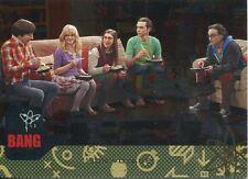 Big Bang Theory Seasons 6 & 7 Silver Parallel Base Card #41 Bon Voyage!