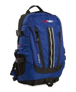 Black Wolf Explorer 35L Daypack Backpack - Blue
