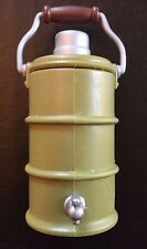 1/6 Scale Water Barrel / Can Military Green with Spout and Handle