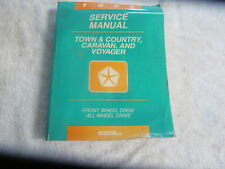 1995 CHRYSLER TOWN & COUNTRY DODGE CARAVAN PLYMOUTH VOYAGER SERVICE MANUAL.