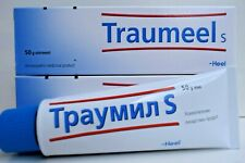 Traumeel S Anti-Inflammatory Homeopathic Cream Pain Relief 50mg Ointment 12.2022