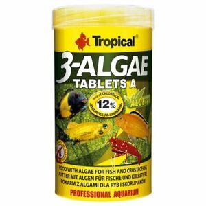 Tropical 3-ALGAE TABLETS A 150g/250ml Adhesive tablets, rich in algae