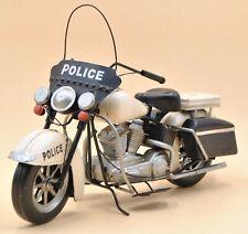 1978 Electra Glide Police Motorcycle Model handmade antique Vintage Art Decor NR