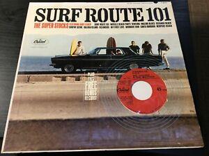 "The Super Stocks Surf Route 101 1964 Capitol Mono LP With Bonus 7"" Single"