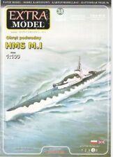 Card Model Kit – HM Submarine M.1