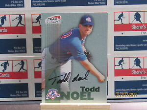 1999 Équipe Best Autographes #45 Todd Noel Ba-Tr