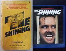 Stephen King The Shining 1980 Movie Tie-in Paperback & Blu-ray Disc Nicholson