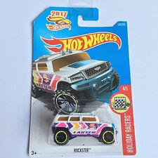Hot Wheels 2017 Rockster Car On Long Card. Holiday Racers. Mint