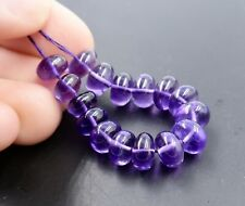 BEAUTIFUL SMOOTH AAAAA AFRICAN ROYAL PURPLE AMETHYST LARGE BEADS 3 inches