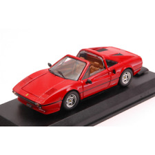 FERRARI 308 GTS 1977 RED 1:43 Best Model Auto Stradali Die Cast Modellino