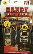 Handy Grill Brush Set - 2pcs - As Seen on Tv - Easily cleans hard-to-reach space