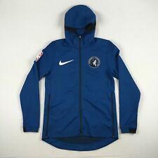 Minnesota Timberwolves Nike Jacket Men's Blue Dri-Fit New Multiple Sizes