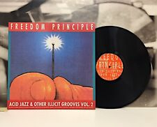 FREEDOM PRINCIPLE - ACID JAZZ AND OTHER ILLICIT GROOVES VOL. 2 LP GER 1989 URBAN
