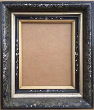 High Quality Dutch School Enamel and Wood Picture Frame / Shadow Box/