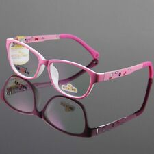 Kids Eyeglasses Eyewear Children Glasses TR90 Optical Pink Frame RX Oval Cute