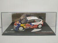 1/43 CITROEN C4 WRC LOEB ELENA 2009 PORTUGAL RALLYE IXO RALLY ESCALA DIECAST
