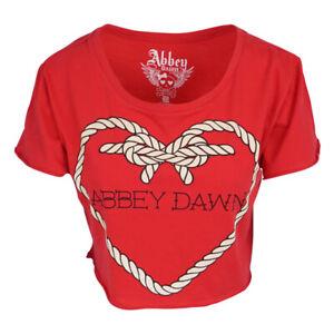 Abbey Dawn Halt Schnell Bauchfreies Top Rot