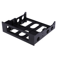 """Black 3.5"""" to 5.25"""" Drive Bay Computer PC Case Adapter Mounting BracketYC"""