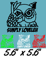 Simply Loveleh Be Seeing You Slb car decal sticker selection of colours.