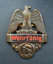 Abzeichen Wehrfähig 2.WK 2.WW