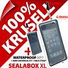 Nuevo Krusell bolsa sellada XL Impermeable Funda teléfono móvil subacuática