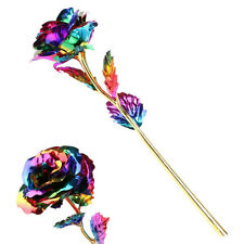 Gift Multi-color Gold Foil Rose Flower Romantic Valentine's Day Mother's Day Hot