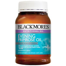 Blackmores Evening Primrose Oil 1000mg 190 Capsules Natural Source Of GLA